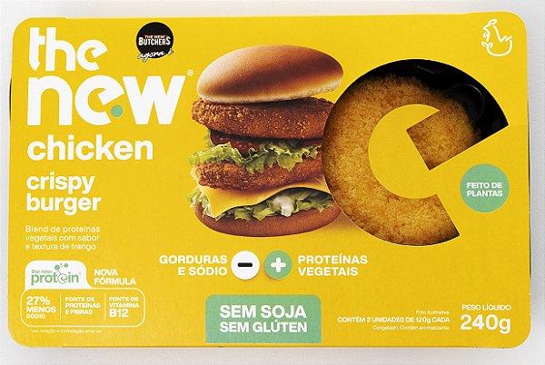 The New Chicken Crispy Burger 200g - The New