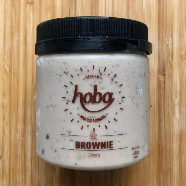 Sorvete de Brownie 500mL - Hoba
