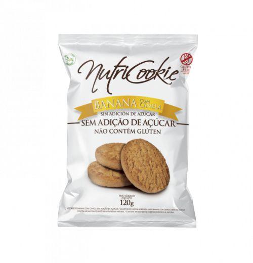 Cookie zero açúcar sabores 120g - Nutripleno