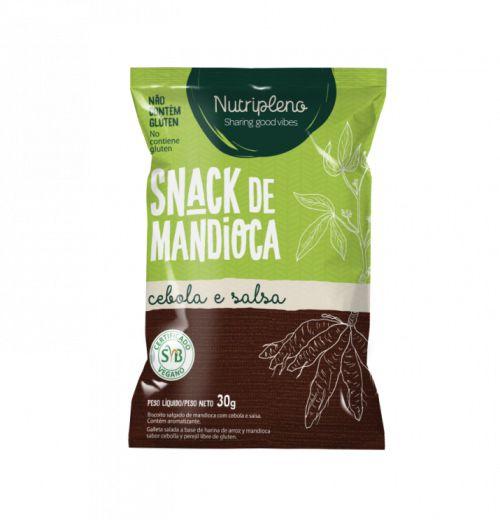 Snack de mandioca sabores 30g - Nutripleno