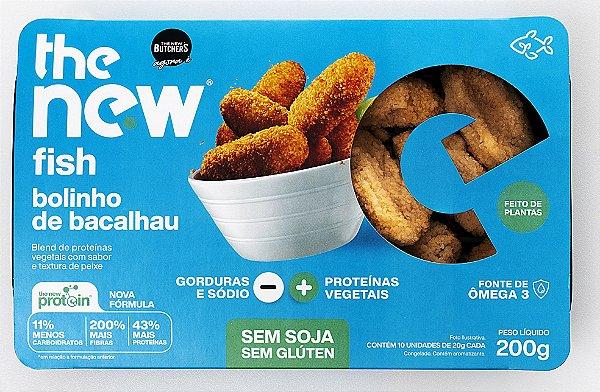 The new fish bolinho de bacalhau 200g - The New