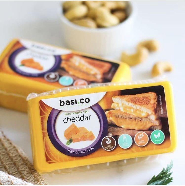 Cheddar de castanha de caju 250g - Basi.co