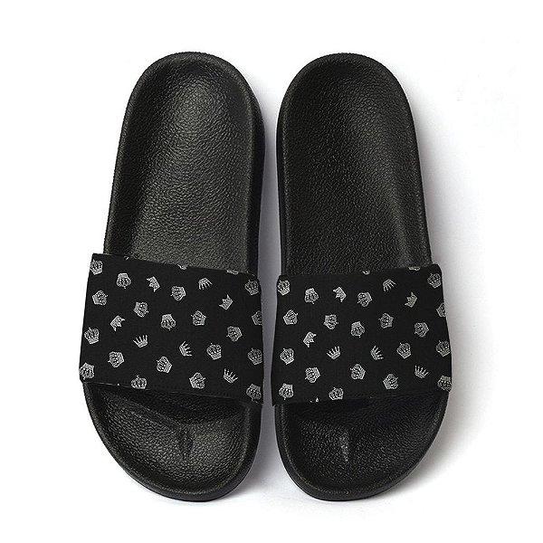 Chinelo coroa tumblr slide benassi unissex sandália