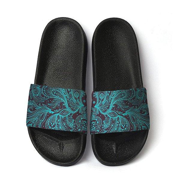Chinelo tribal slide benassi unissex sandália