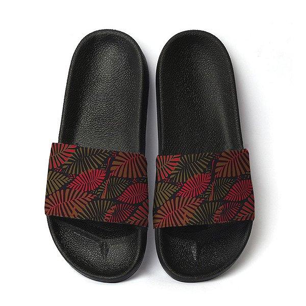 Chinelo floral havaiana slide benassi unissex sandália