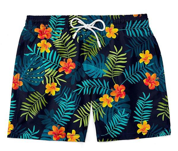 Short Bermuda Summer Flowers
