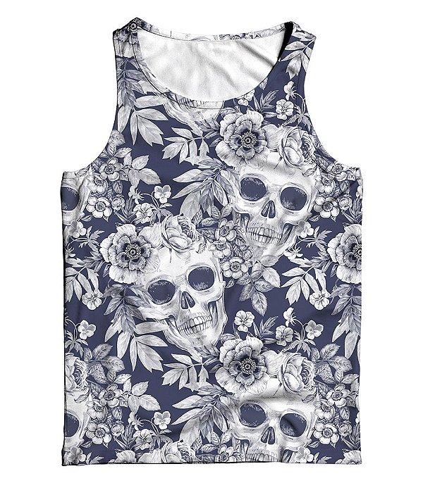Regata Full 3D Summer Floral Skull
