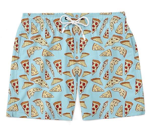 Bermuda Short Praia Summer Pizza