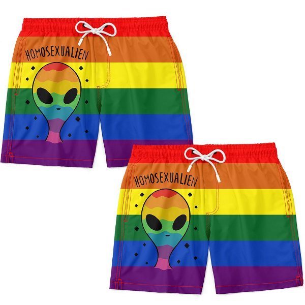Kit Casal Masculino Homosexualien