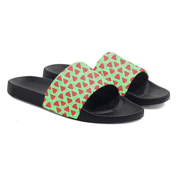 Chinelos Slide Benassi Unissex Watermelon