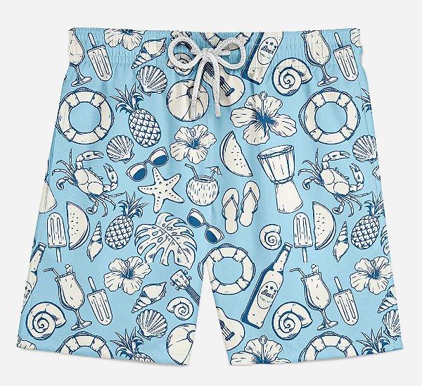 Short Praia Infantil Summer