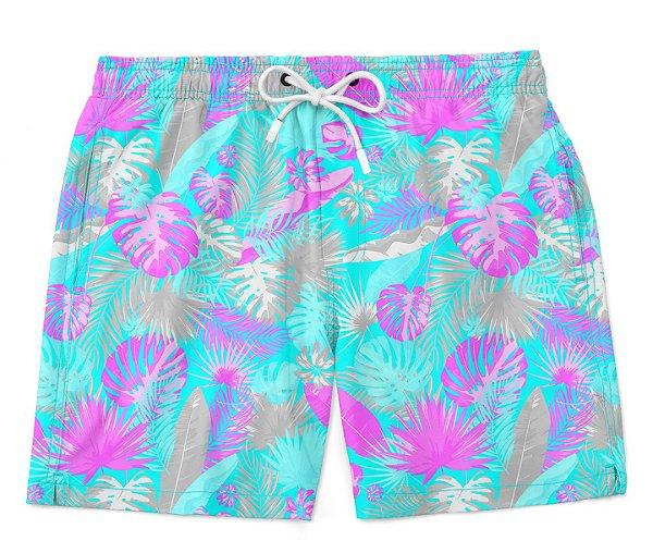 Bermuda Short Praia Verão Color Sheets