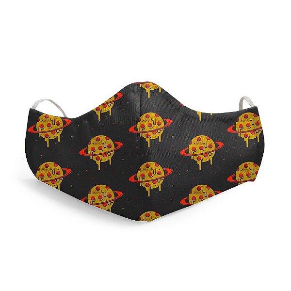 Mascara Proteção Facial Planet Pizza