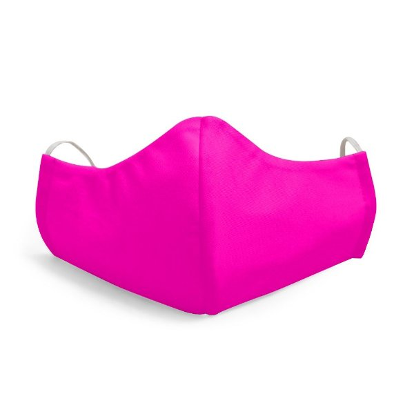 Mascara Proteção Facial Liso Pink