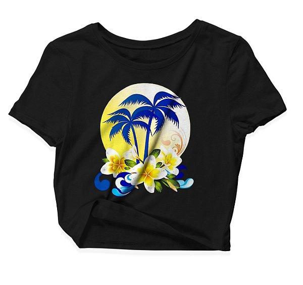Camiseta Cropped Hawai
