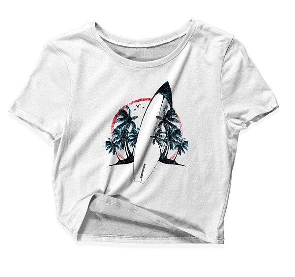 Camiseta Cropped Prancha
