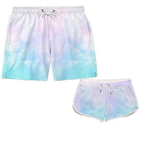 Kit Casal Praia Tie Dye Color