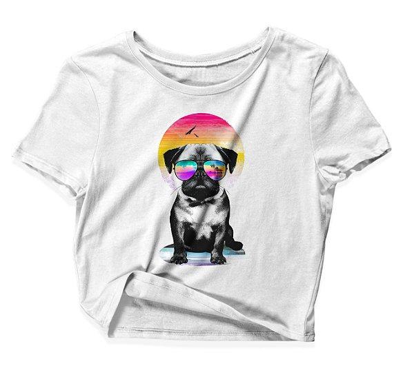 Camiseta Cropped Summer Style Dog