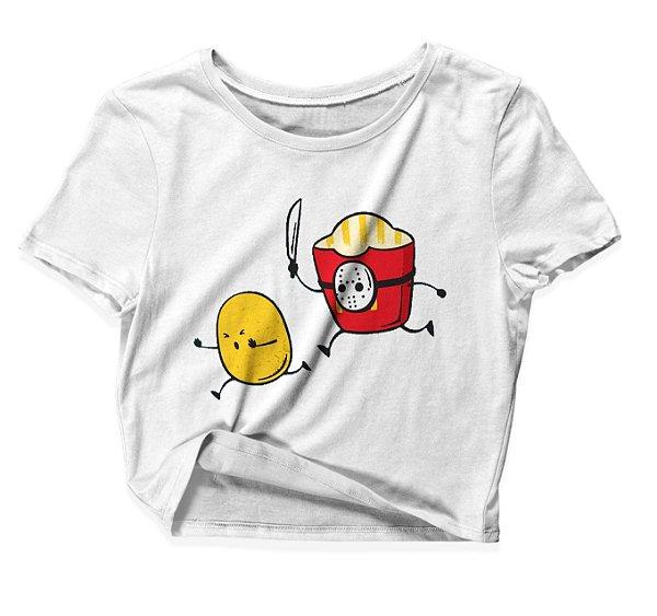 Camiseta Cropped Batata Jason