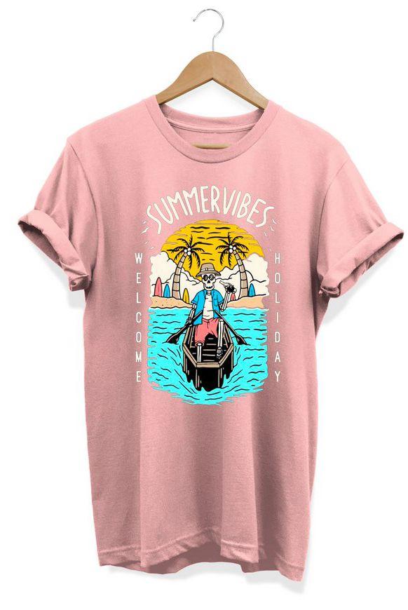 Camiseta Unissex SummerVibes