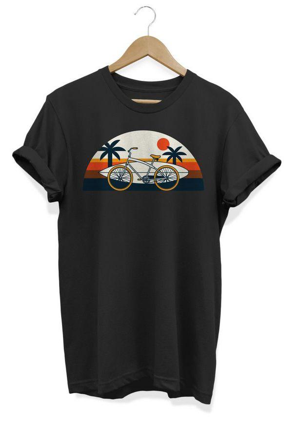 Camiseta Unissex Tropical Bike