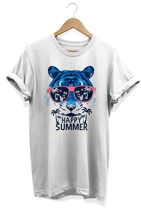 Camiseta Unissex Summer Happy