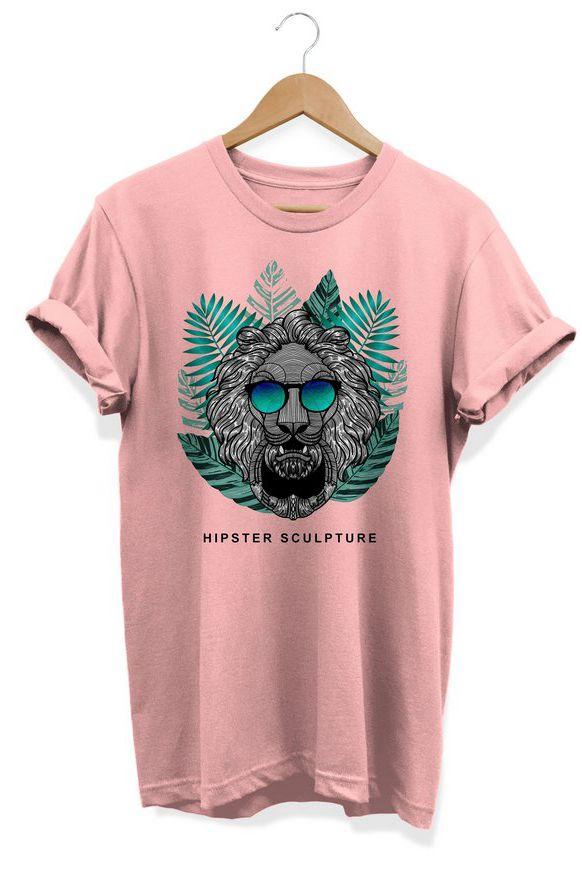 Camiseta Unissex Hipster Sculpture