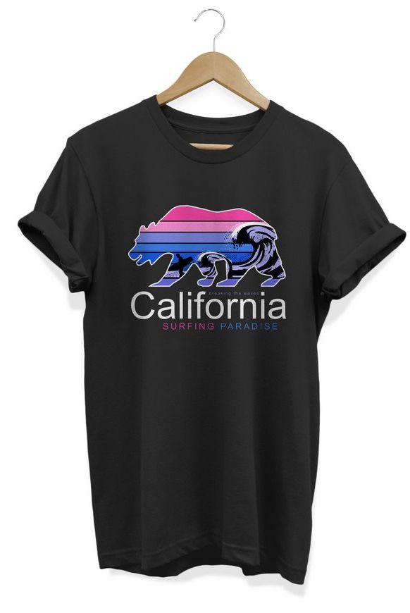 Camiseta Unissex California Surf Club