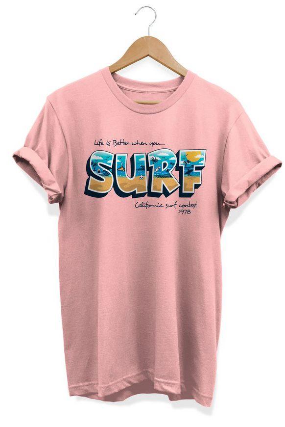 Camiseta Unissex Surf