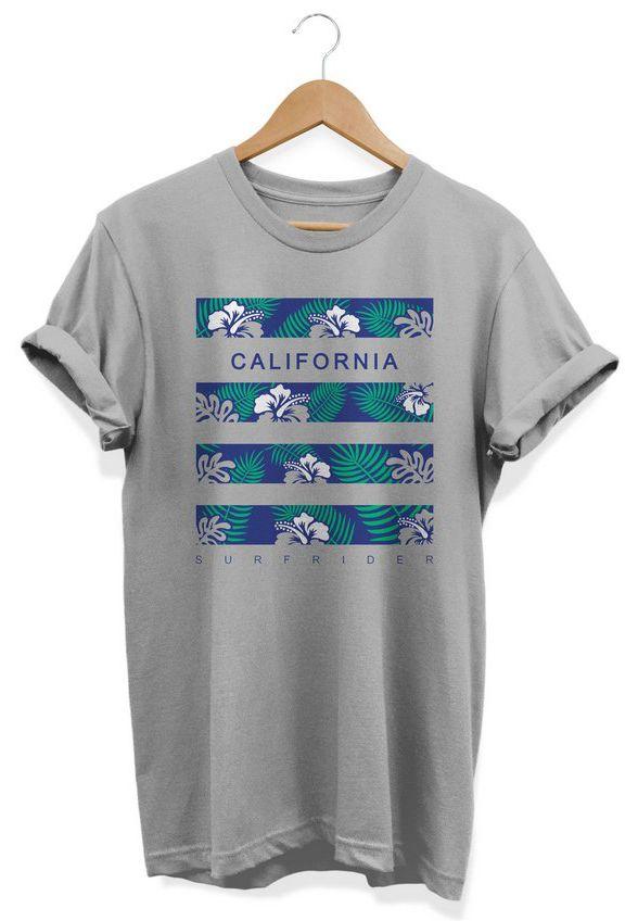 Camiseta Unissex California Surf Ride