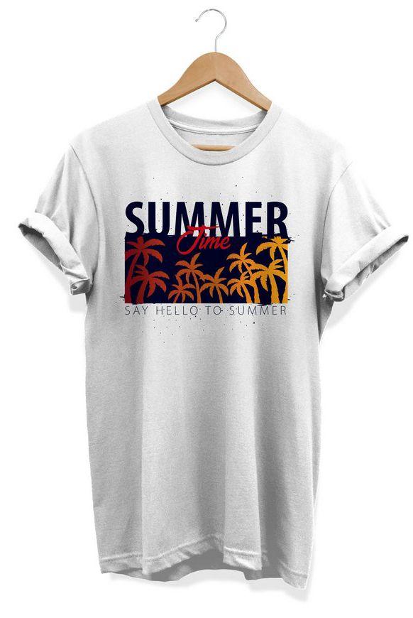 Camiseta Unissex Tropical