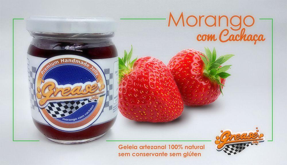 Geleia de Morango com Cachaça - 220g