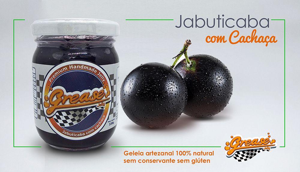 Geleia de jabuticaba com Cachaça - 220g