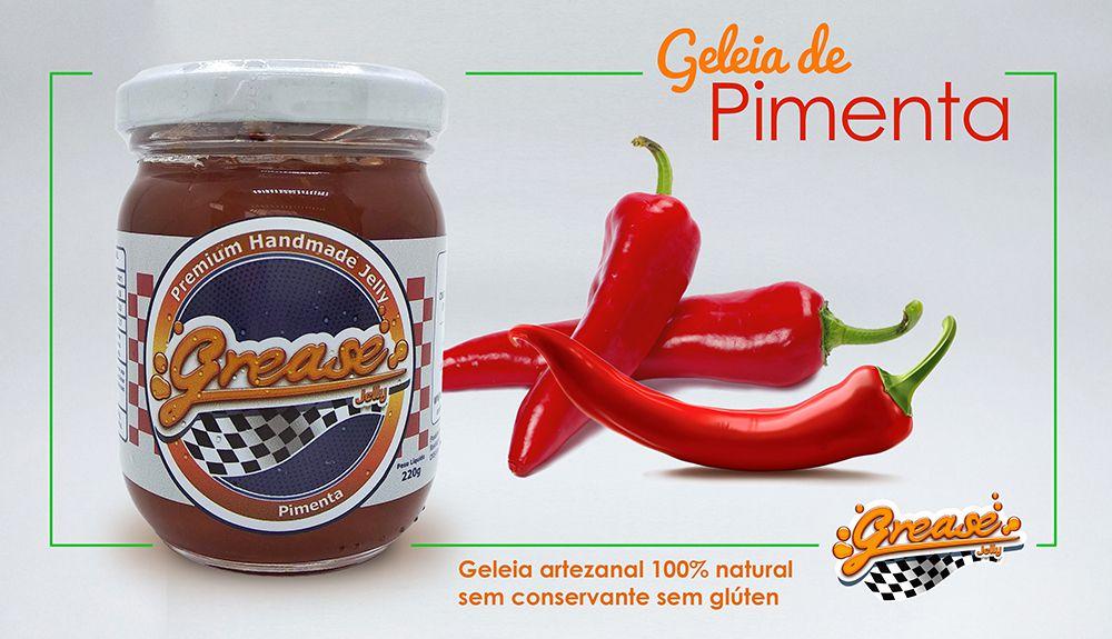 Geleia de Pimenta (Dedo de Moça) - 220g