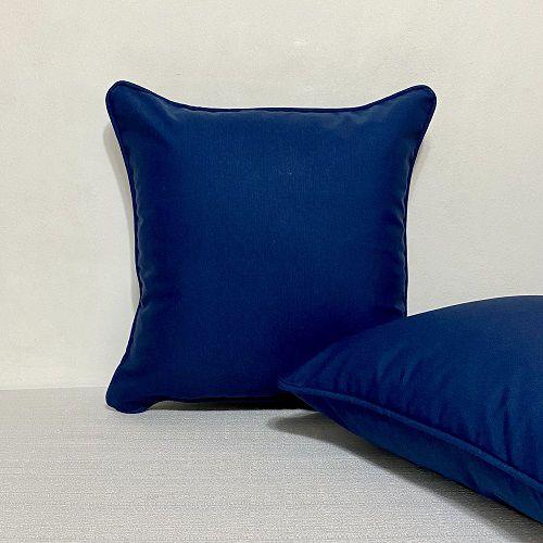 Capa para Almofada Impermeável Azul Marinho