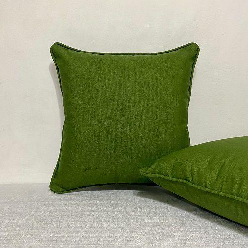 Capa para Almofada Impermeável Verde Musgo