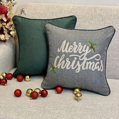 Kit Merry Christmas Chumbo Com Verde