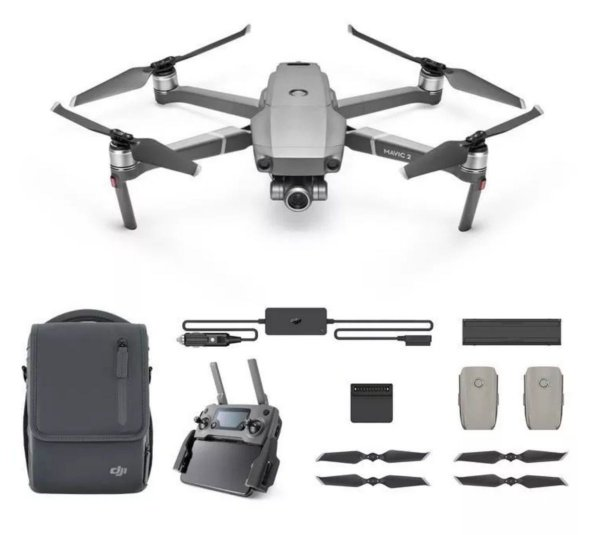 Drone Dji Mavic 2 Zoom + Kit Fly More combo