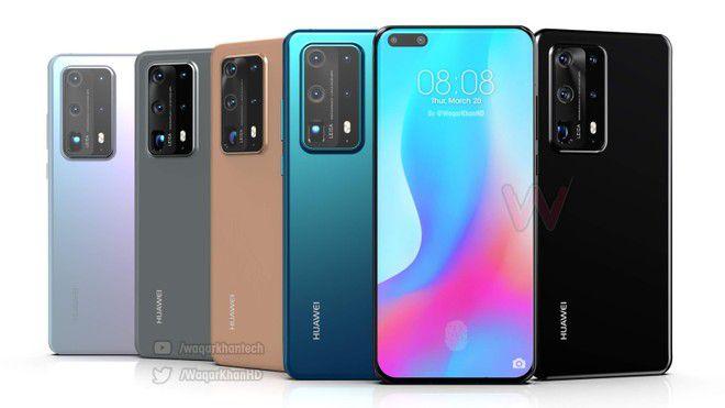Smartphone Huawei P40 128GB 8GB RAM ANA-NX9 Dual Sim