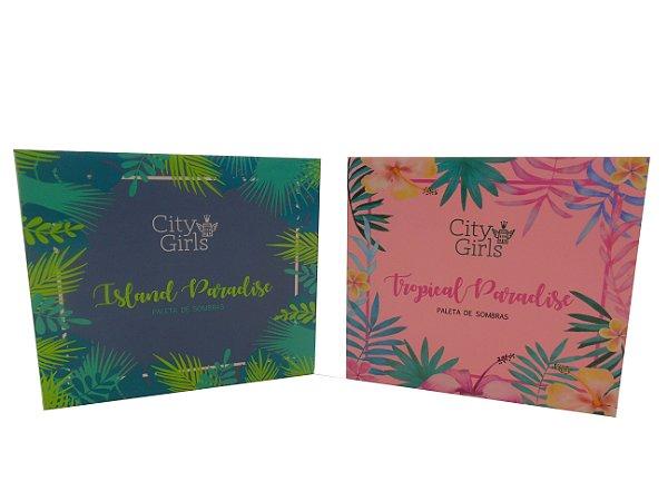 Paleta de Sombra City Girls Tropical Paradise & Island Paradise