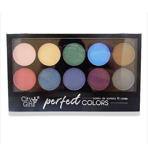 Paleta de sombra City Girls Perfect Colors