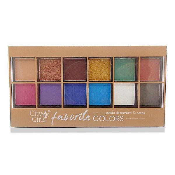 Paleta de sombra City Girls Favorite Colors