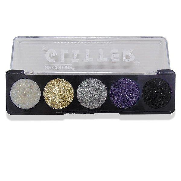 Paleta de Glitter Sp Colors