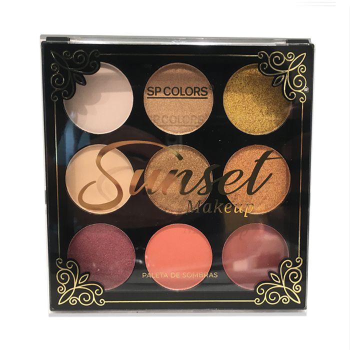 Paleta de Sombra Sp Colors Sunset Makeup