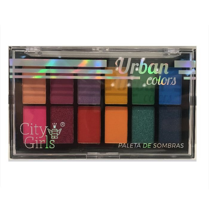 Paleta de Sombra City Girls Urban Colors