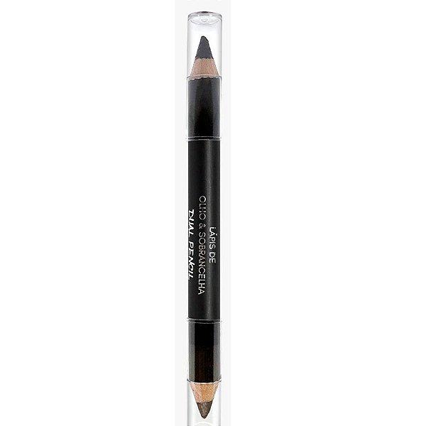 Lápis de Olho e Sobrancelha City Girls Dual Pencil