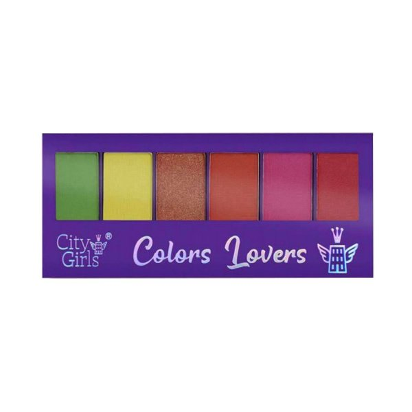 Paleta de Sombras City Girls Colors Lovers