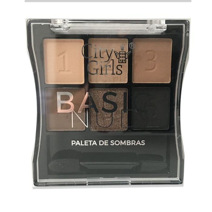 Paleta de Sombras City Girls Basic Nude