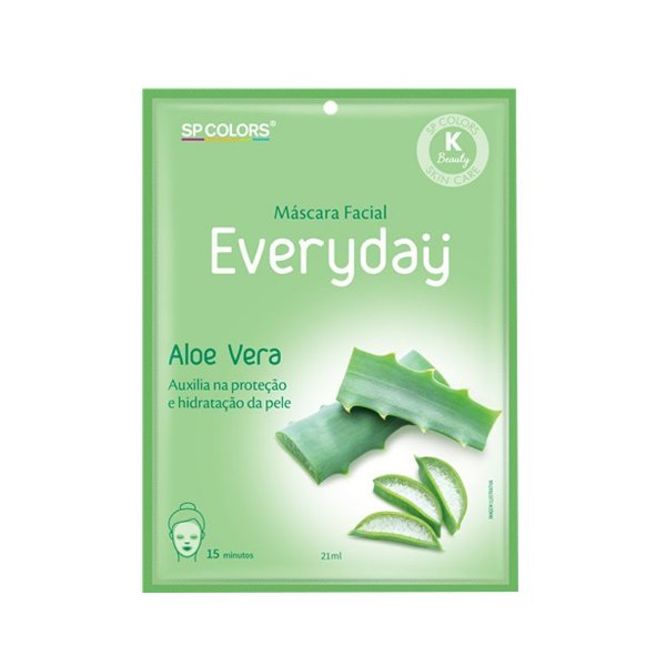 Máscara Facial SP Colors Everyday - Aloe Vera