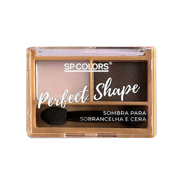 Sombras para Sobrancelha + Cera SP Colors Perfect Shape